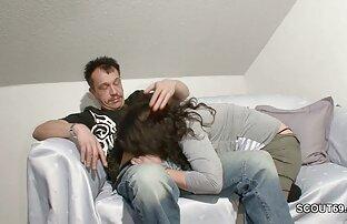 الأب الألماني يغوي ابنة زوجته عندما تبتعد الأم.