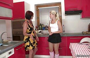 الساخنة مثليه ناضجة والشباب المشهد على المطبخ
