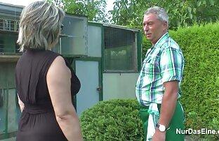 الجد الألماني والجدة يمارسان الجنس بشدة في الحديقة