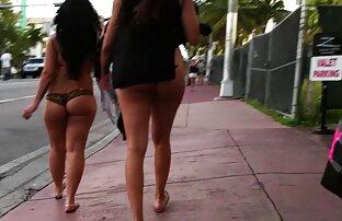 ميامي فلوريدا ثونغ سلسلة المتلصص في الحمار المشي