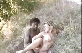 زوجة شقراء أفريقية في الغابة