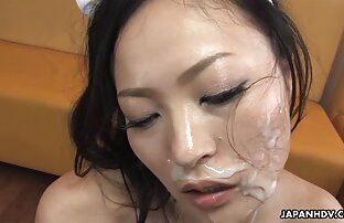 تحصل مارس الجنس خادمة ماي على حد سواء اللعنة الثقوب