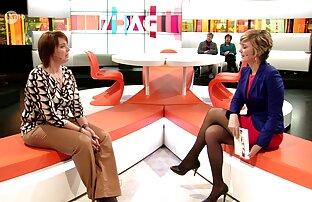 مضيفة تلفزيون بلجيكية أرجل رائعة