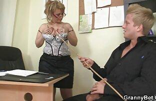ناضجة مكتب رئيس يجعل لها اللعنة بجد في مثير صورة Bf Full HD
